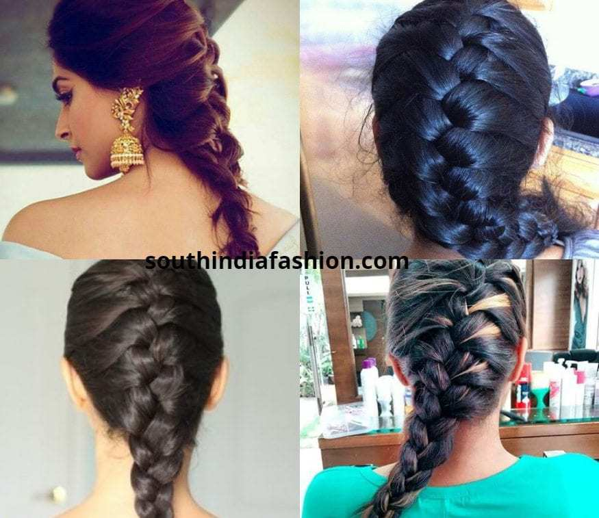 French Braid For Anarkalis