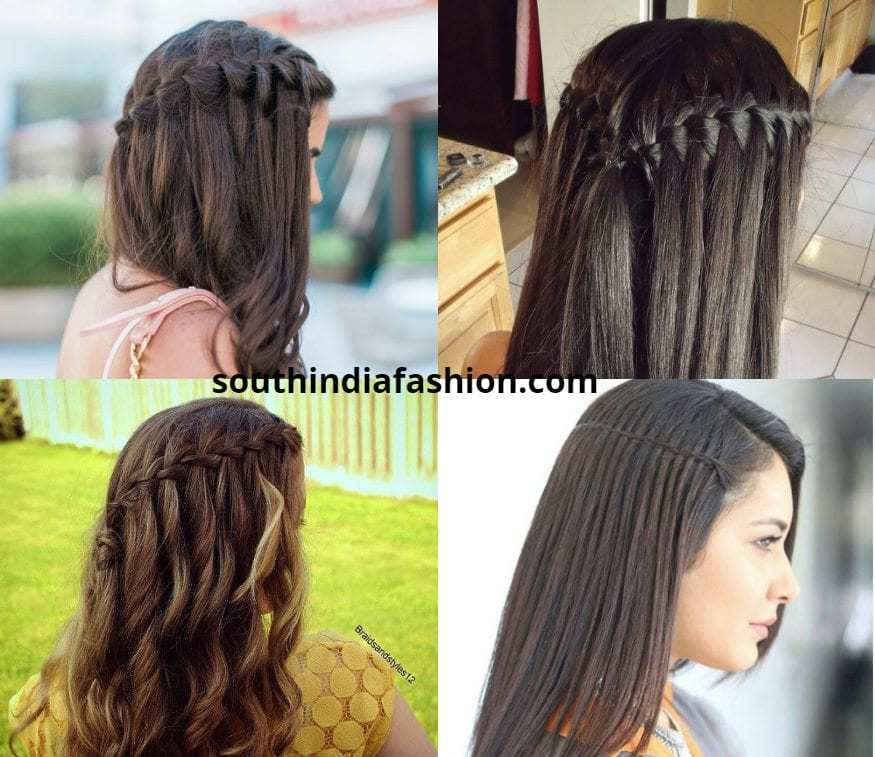 Waterfall Braid For Anarkalis