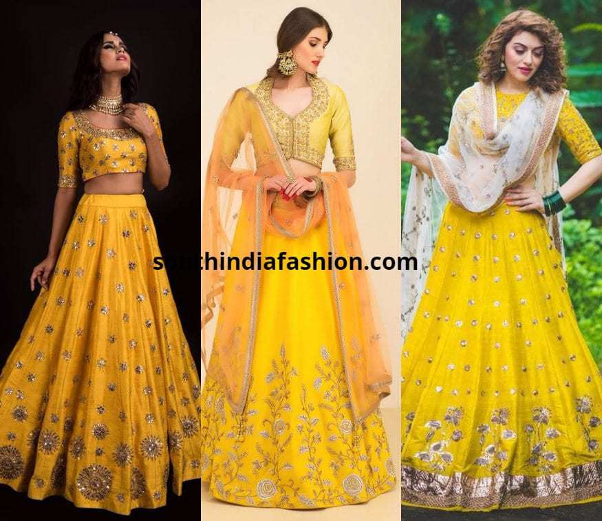 Yellow Lehengas