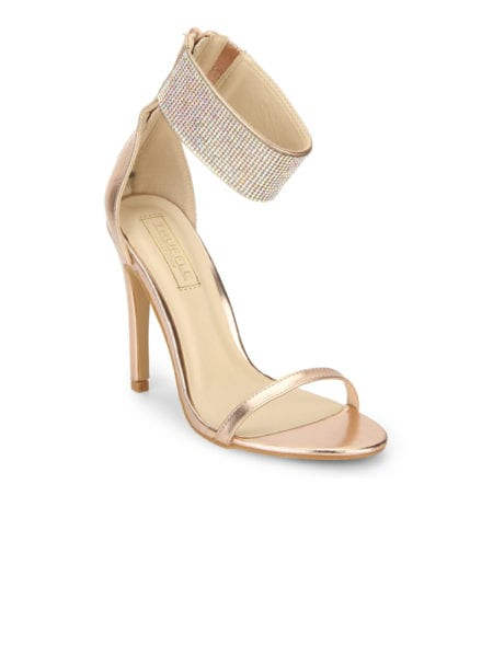 golden high heels online india