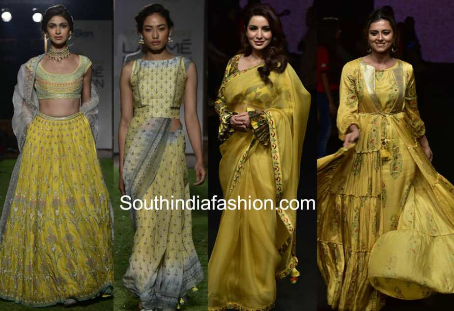 Top Fashion Color Trends for Indian Ethnic Wear 2018