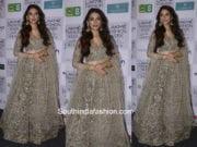 Aditi Rao Hydari in Payal Singhal for Lakme Fashion Week 2018 1