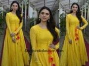 Aditi Rao Hydari in Vasavi The Label for her upcoming movie promotions