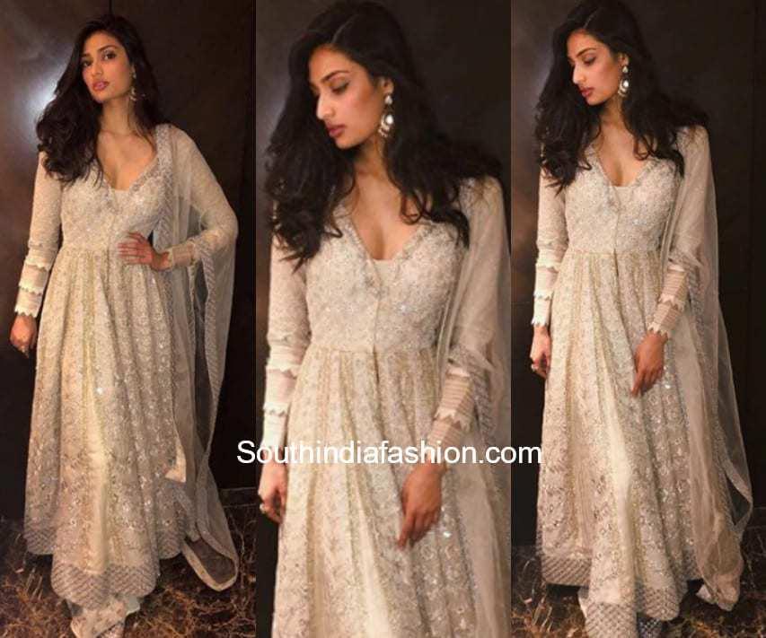 Athiya Shetty in Jade by Monica and Karishma