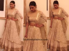 Athiya Shetty in Tarun Tahiliani at a wedding event