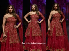 Bipasha Basu in Reshma Kunhi at Lakme Fashion Week 2018 1