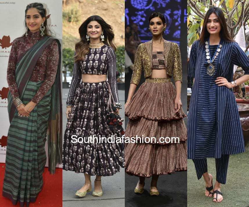 Bollywood Celebrities Rock The Desi Boho Looks