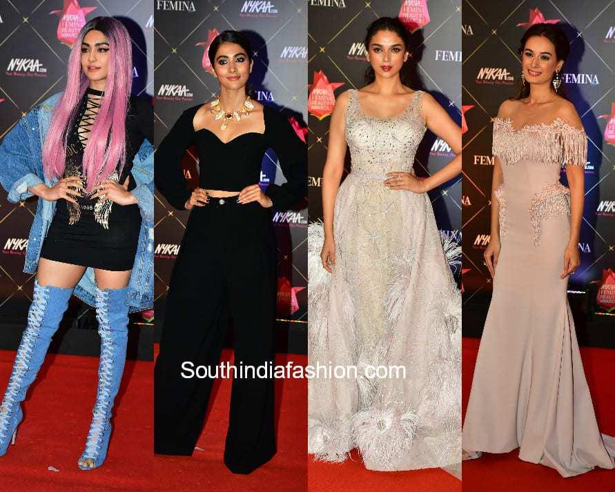 Celebrities at Femina Beauty Awards 2018