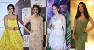 Celebrities in Fringed Outfits