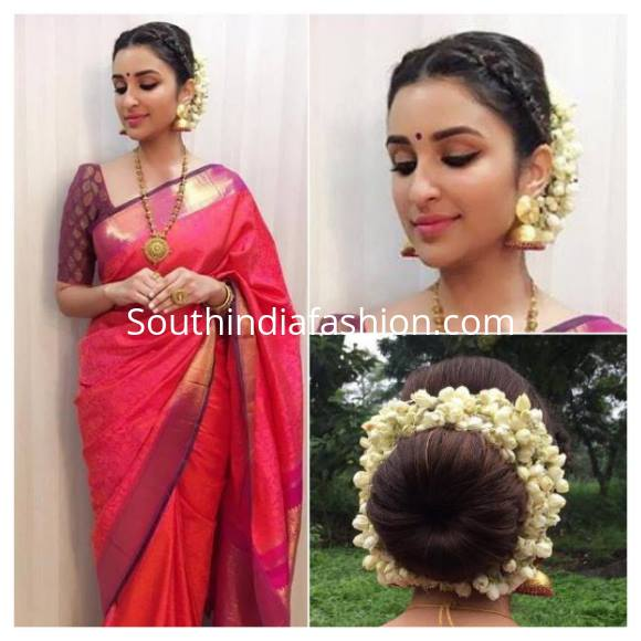 Classic look for saree