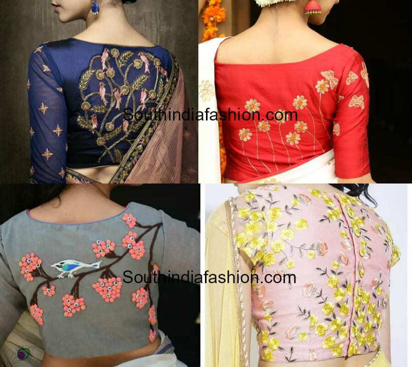 5 Stunning Saree Blouse Back Neck Designs To Make Heads Turn