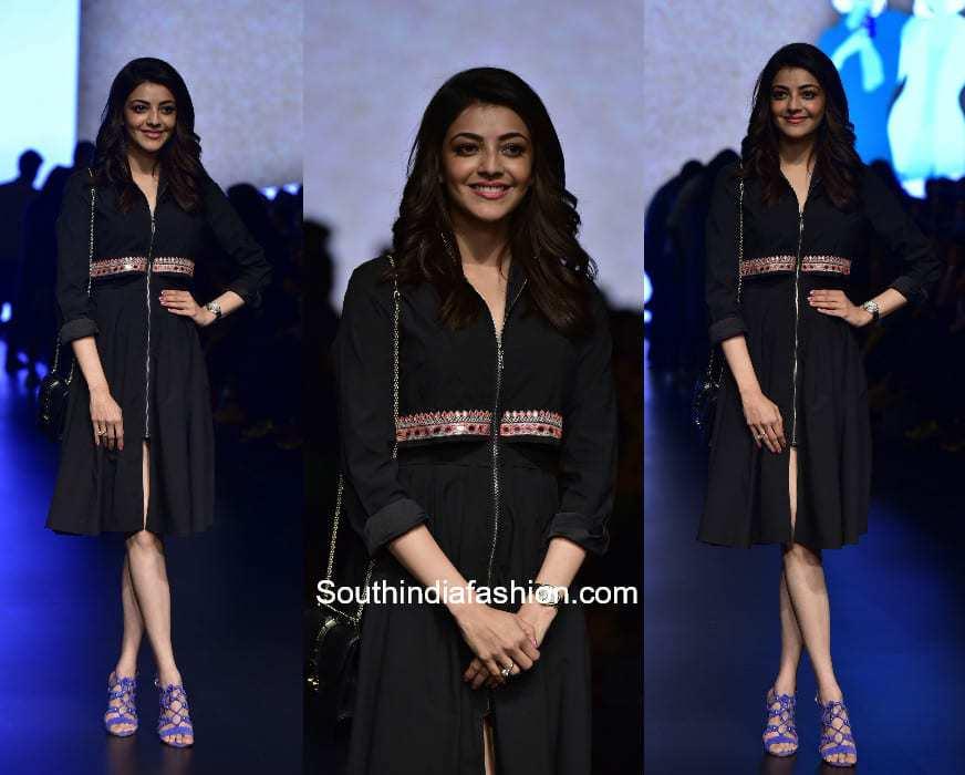Kajal Aggarwal for Caprese at Lakme Fashion Week 2018
