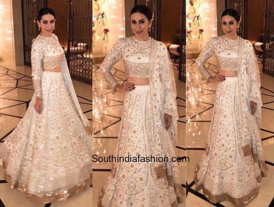Karishma Kapoor in Manish Malhotra at a wedding