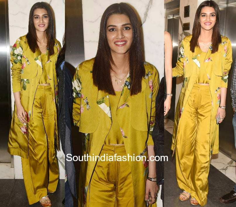 Kriti Sanon in Mahima Mahajan at Padman Movie Screening