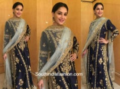 Madhuri Dixit in Rimple and Harpreet Narula for an event