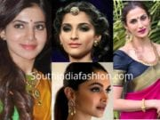 Makeup looks for saree