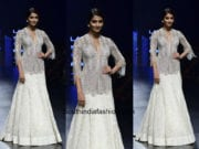 Pooja Hegde in Ridhi Mehra at Lakme Fashion 2018