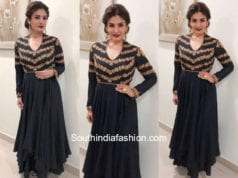 Raveena Tandon in Anjali Jani for an event
