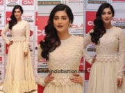 Shruti Haasan in Varun Bahl for an event in Chennai
