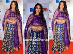 Sonakshi Sinha for Shaina NC at Pidilite CPAA Charity Fashion Show 1