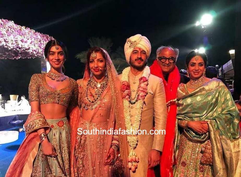 Sridevi Kapoor before her demise at Mohit Marwah's wedding in Dubai
