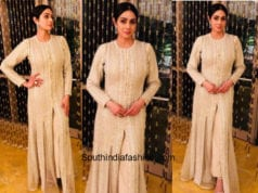 Sridevi Kapoor in Faraz Manan at a family wedding