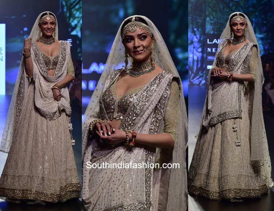 Sushmita Sen in House Of Kotwara at Lakme Fashion Week 2018 (2)