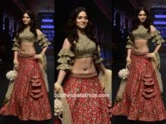 Tamanna Bhatia for Ashwini Reddy at Lakme Fashion Week 2018