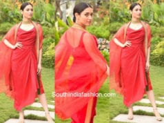 Tamanna Bhatia in Tisha for an event in Chennai