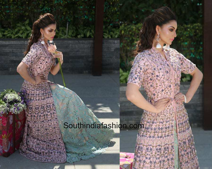 Urvashi Rautela in an anarkali for Wedding Vows Magazine Shoot 1