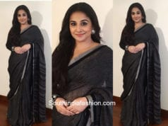 Vidya Balan in Anavila for the screening of Gulabjam