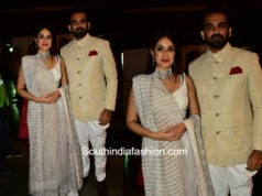Zaheer and Sagarika for Shaina NC for Pidilite CPAA Fashion Event