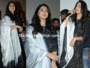anushka shetty black salwar suit