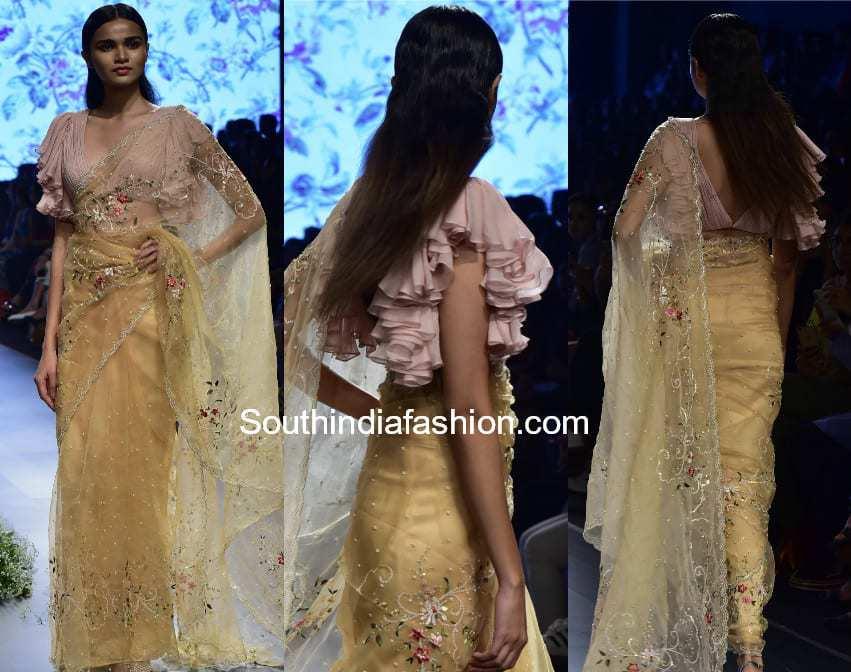 anushree reddy net sarees