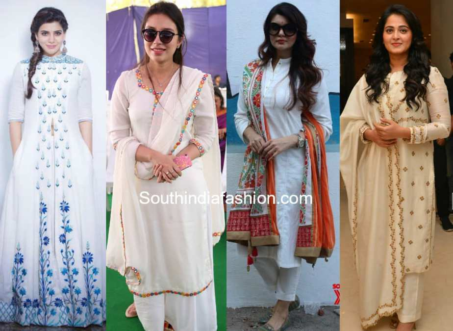 10 White Salwar Suits That Are Perfect For Any Occasion Shop Them Online South India Fashion