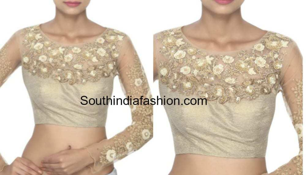 Unique style readymade blouses online for shopping at Mirraw, we offer matching blouse for any unique saree at exciting cheap prices with free shipping in India. This website will only function properly with JavaScript enabled.