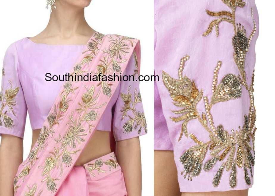 aari embroidery blouse