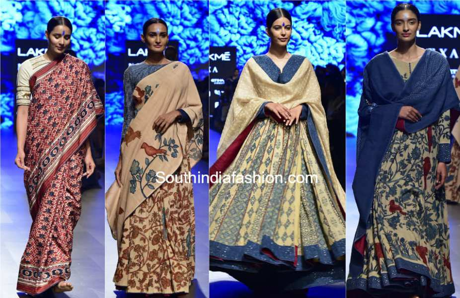 gaurang collection lakme fashion week summer resort 2018