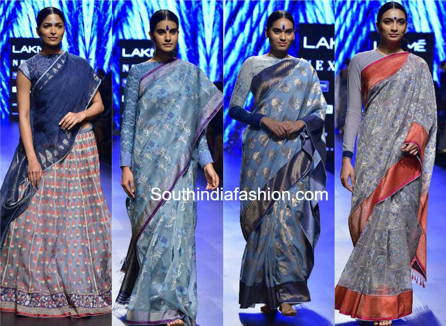 gaurang neel collection lakme fashion week