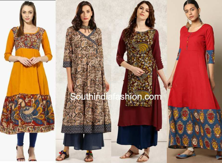 10 beautiful kalamkari kurtis that you can buy online for Pictures to buy online