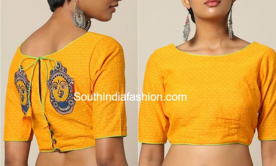 kalamkari work blouses