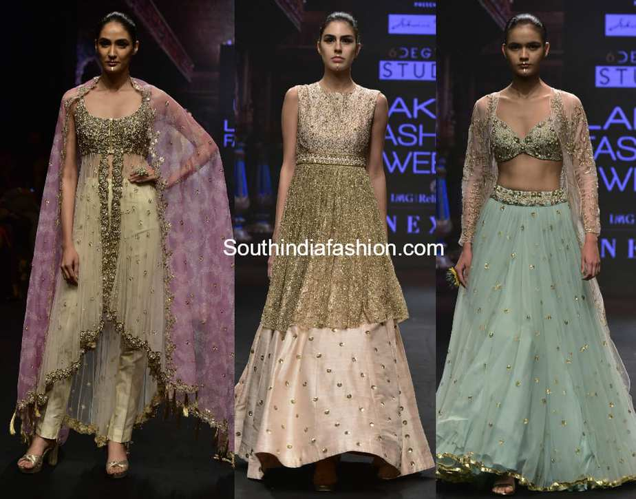 ashwini reddy collection at lakme fashion week 2018