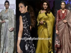 saree trends 2018