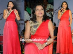 manjula ghattamaneni dress
