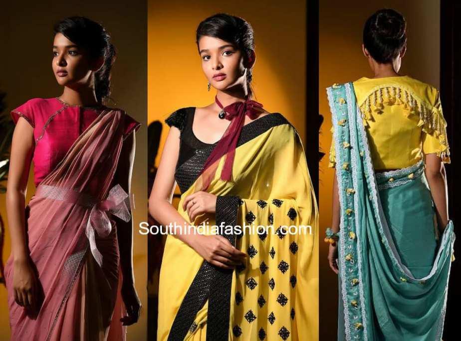 monk by madhu designer sarees