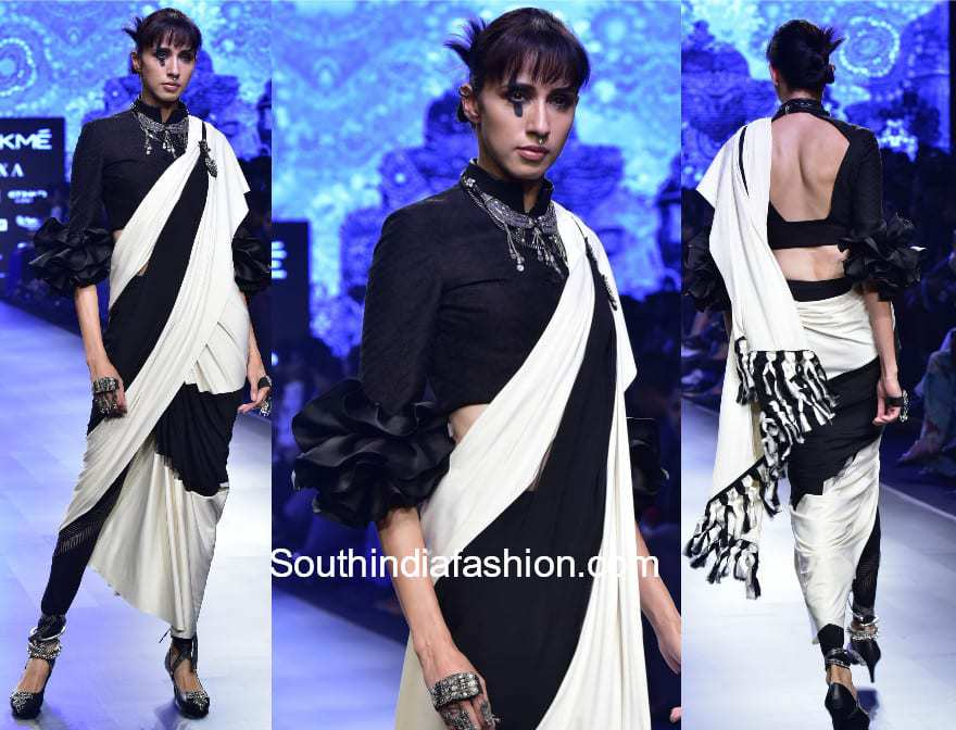 pant style sarees