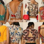 20 Gorgeous Readymade Kalamkari Blouses To Team Up With Your Plain Sarees