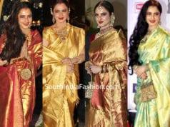 rekha-in-pattu-sarees