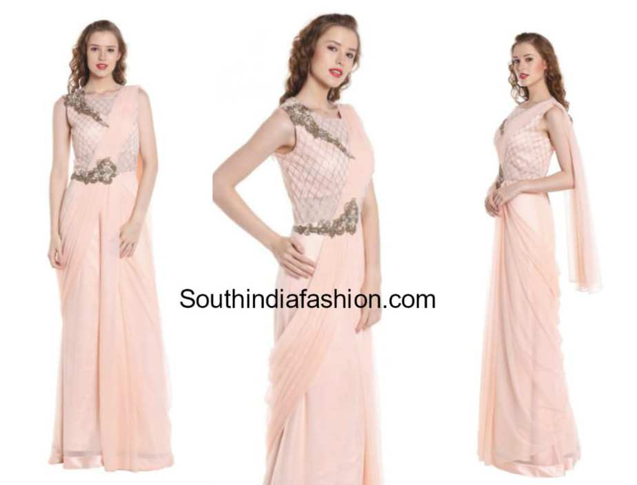 Stylish Saree Gowns - SHOP ONLINE! – South India Fashion