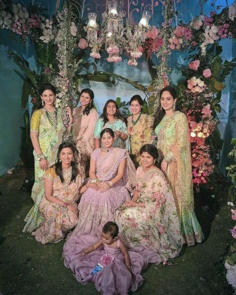 bridesmaids in anushree reddy